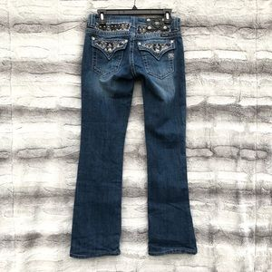 Miss Me Size 27 Bling Bootcut Jeans